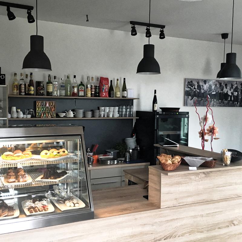 Kavárna Lucaccino - interiér